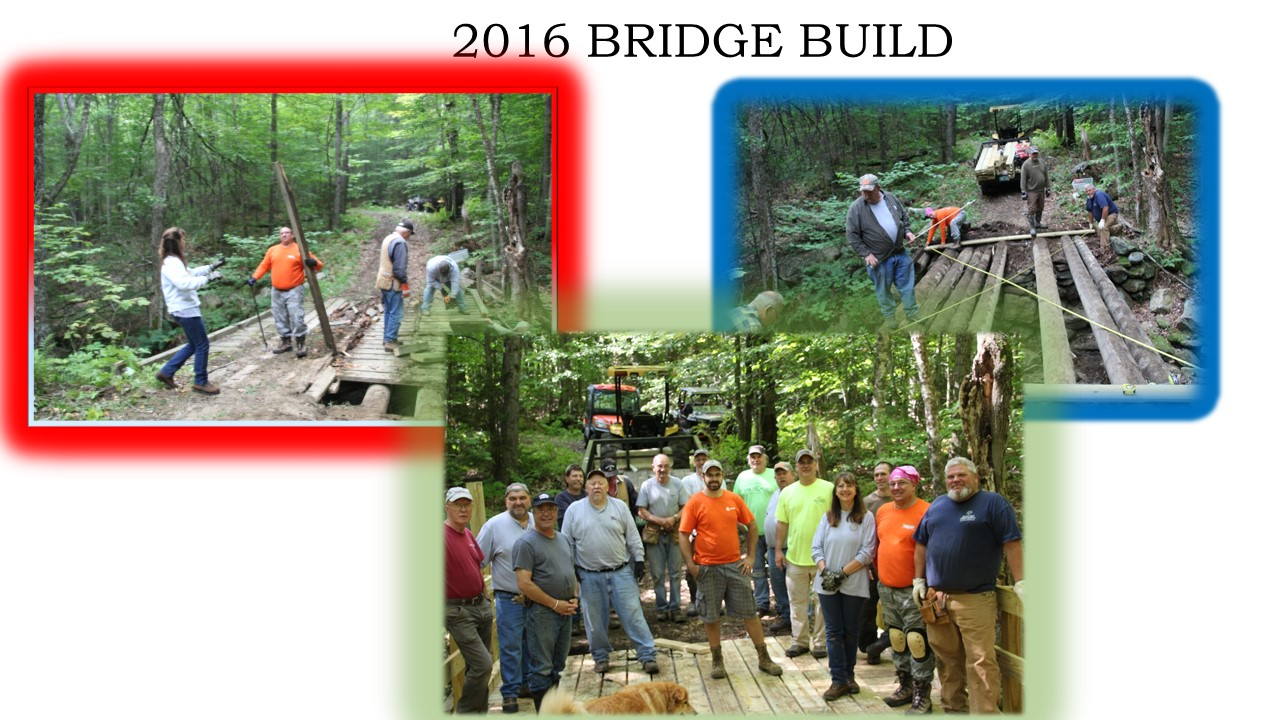 2016 bridge work